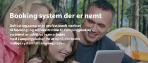 Bookingsystem til campingpladser