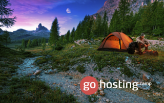 gohosting telt i det fri